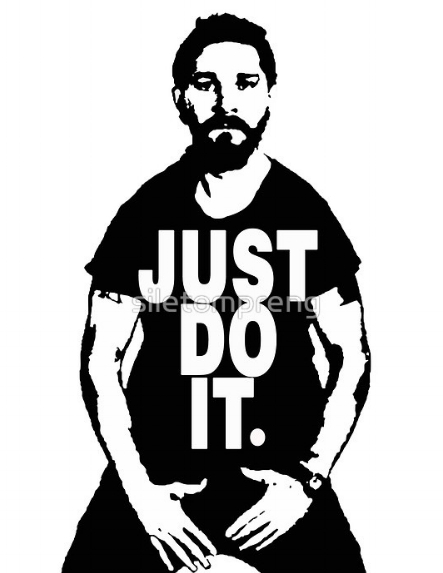 Our studio motto:  Just do it!