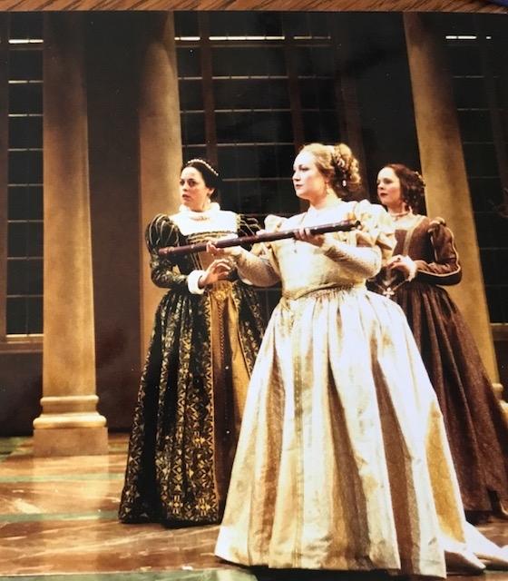 Duchess Christina in Glass' Galileo Galilei
