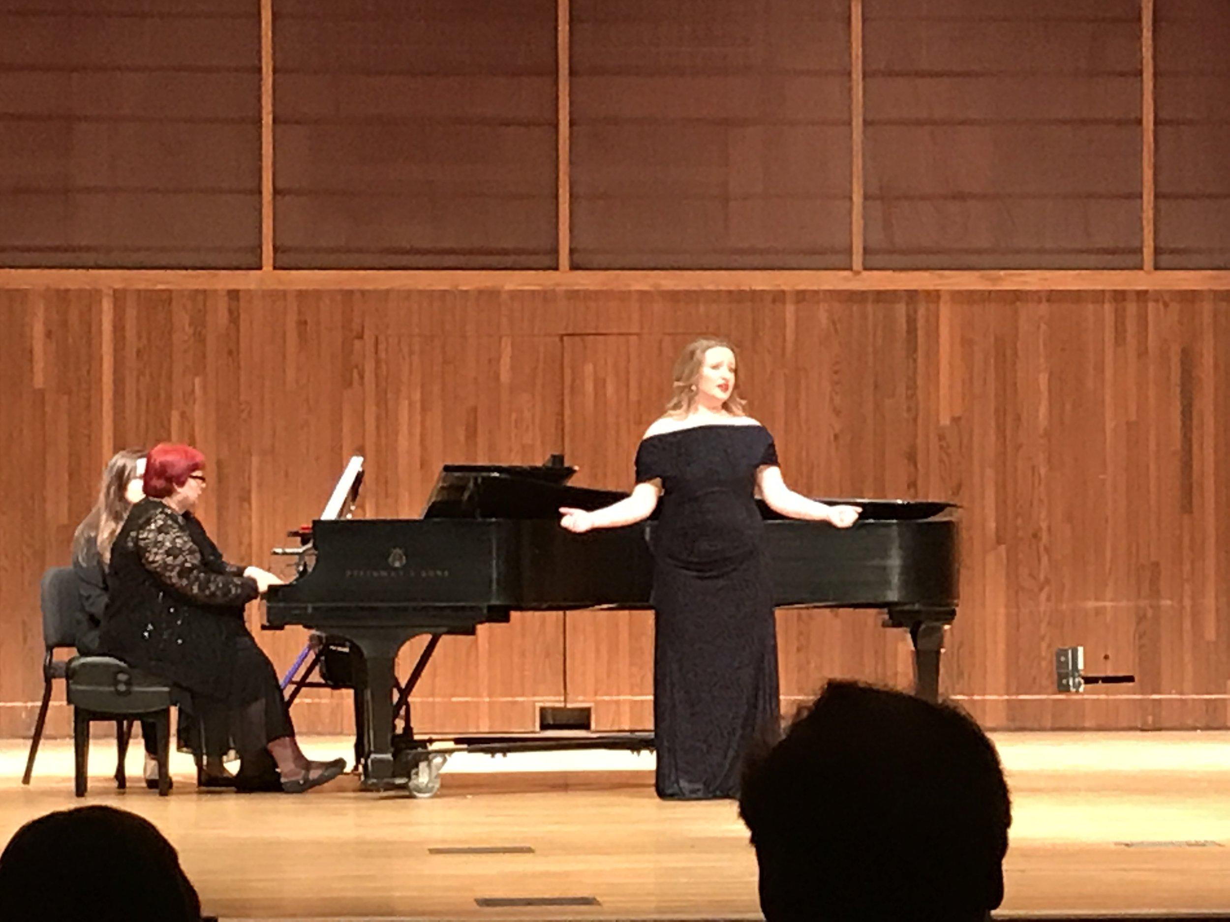 Shannon Lowe MM Recital