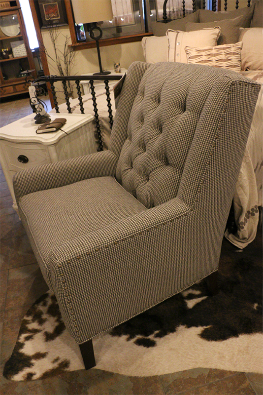 Sensible Tufted Chair | #6870