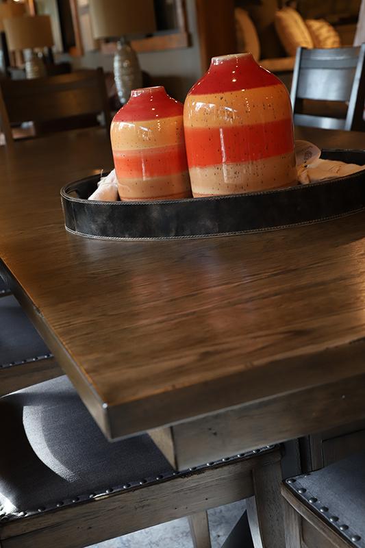 Orange Ceramic Vases | #7405 #7404