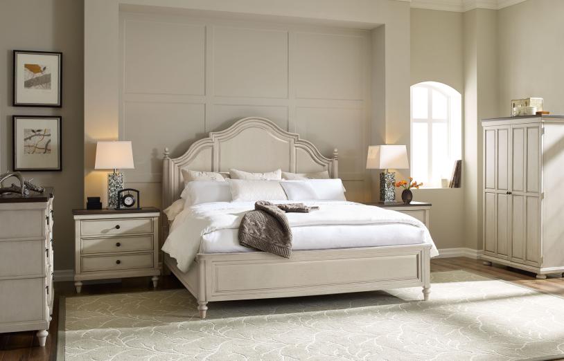 Brookhaven Panel Bed | Vintage Linen