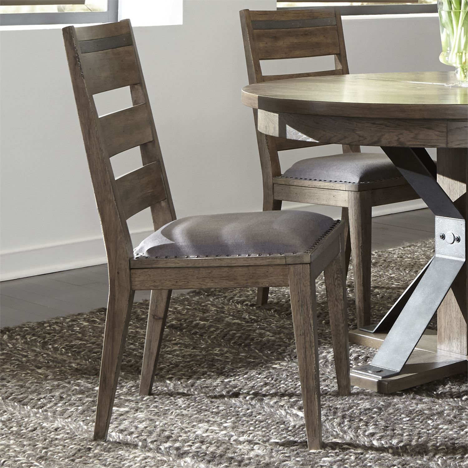 Ladder Back Dining Chair | #7478