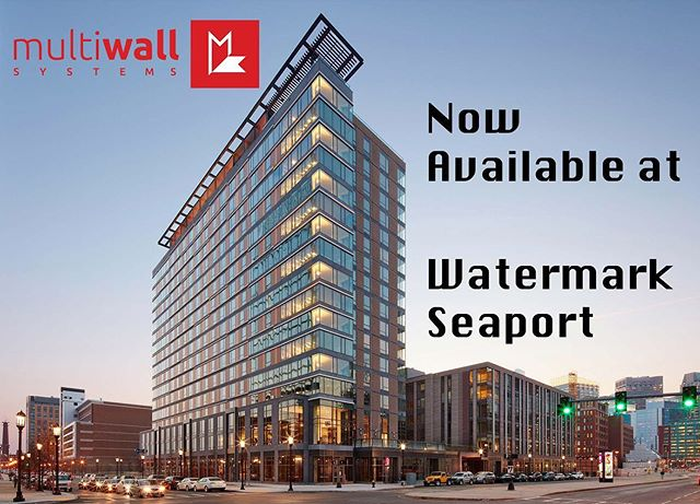 Multiwall is now available at the stunning Watermark Seaport. See how Multiwall takes a beautiful studio and transforms it into so much more. @wmspapts