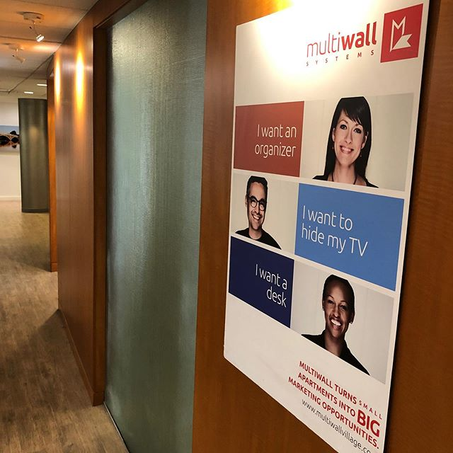 Come visit Multiwall at our new office in 10 Post Office Square. Kick the tires of a Studio Plus Multiwall unit while you are here.