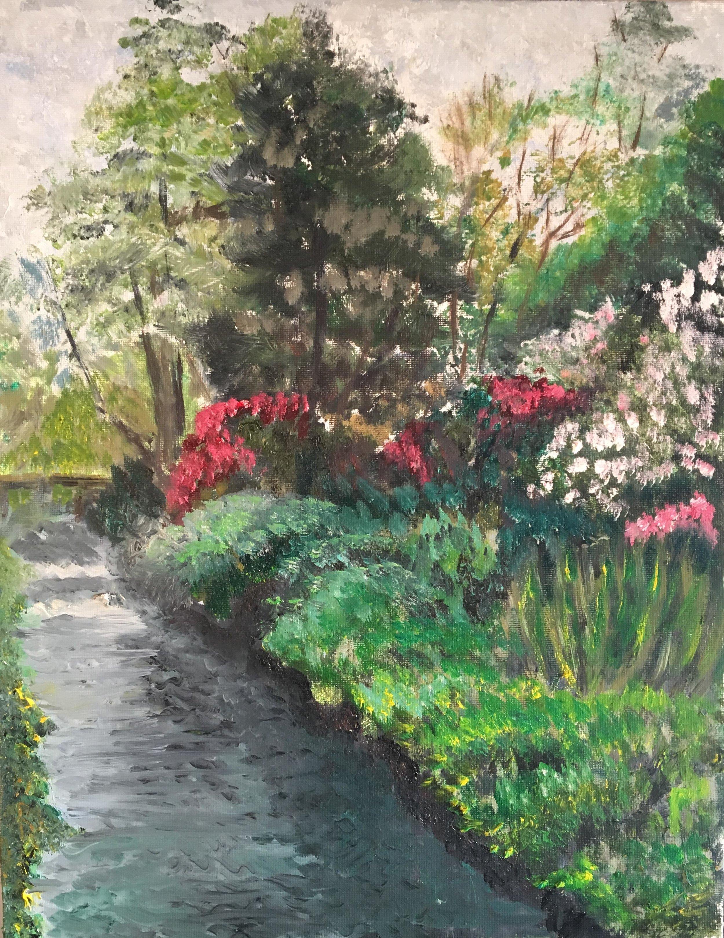 Print 2 - Bodnant Gardens - Size: 225 x 291