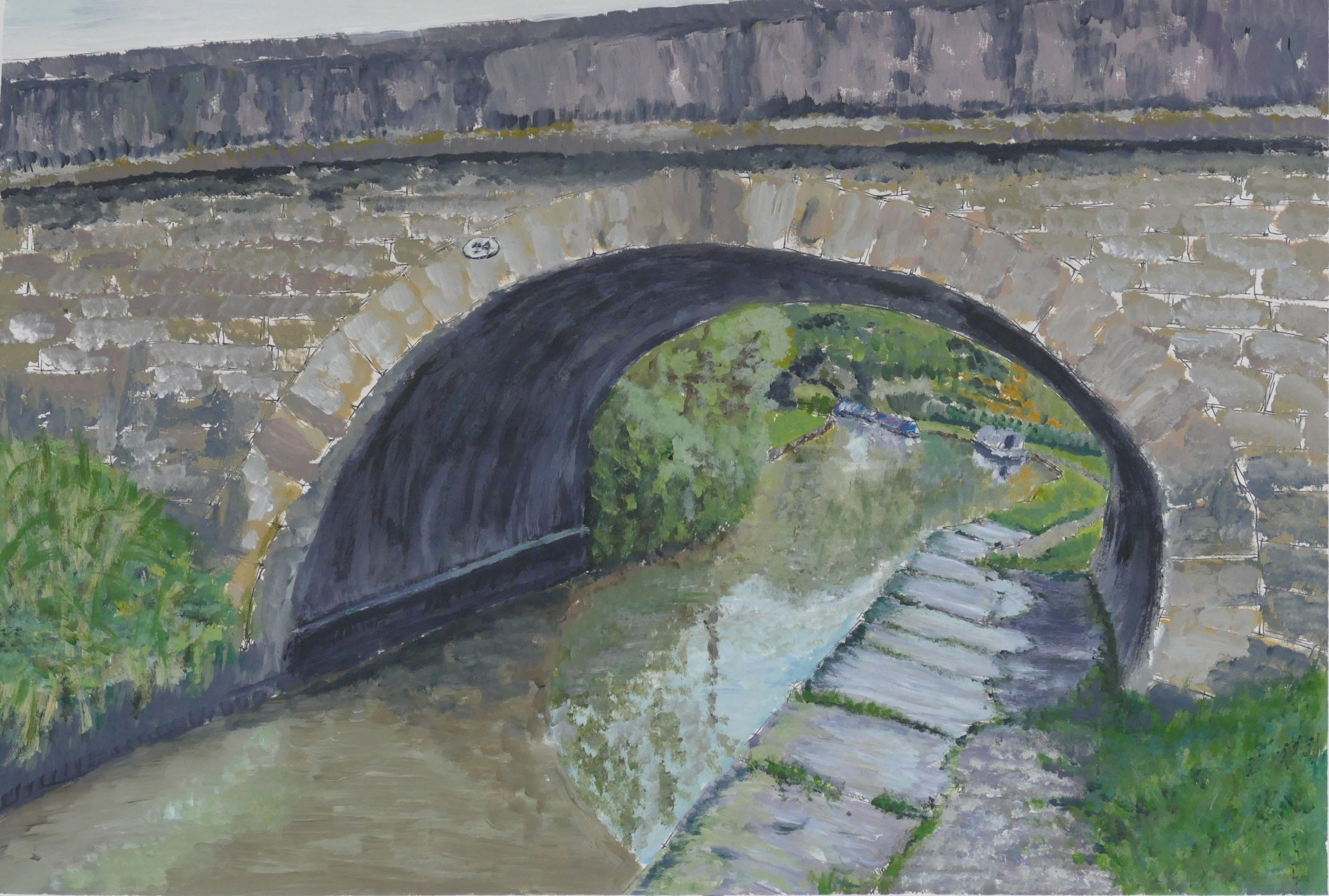 Print 3 - Bridge No. 24 - Size: 405 x 276