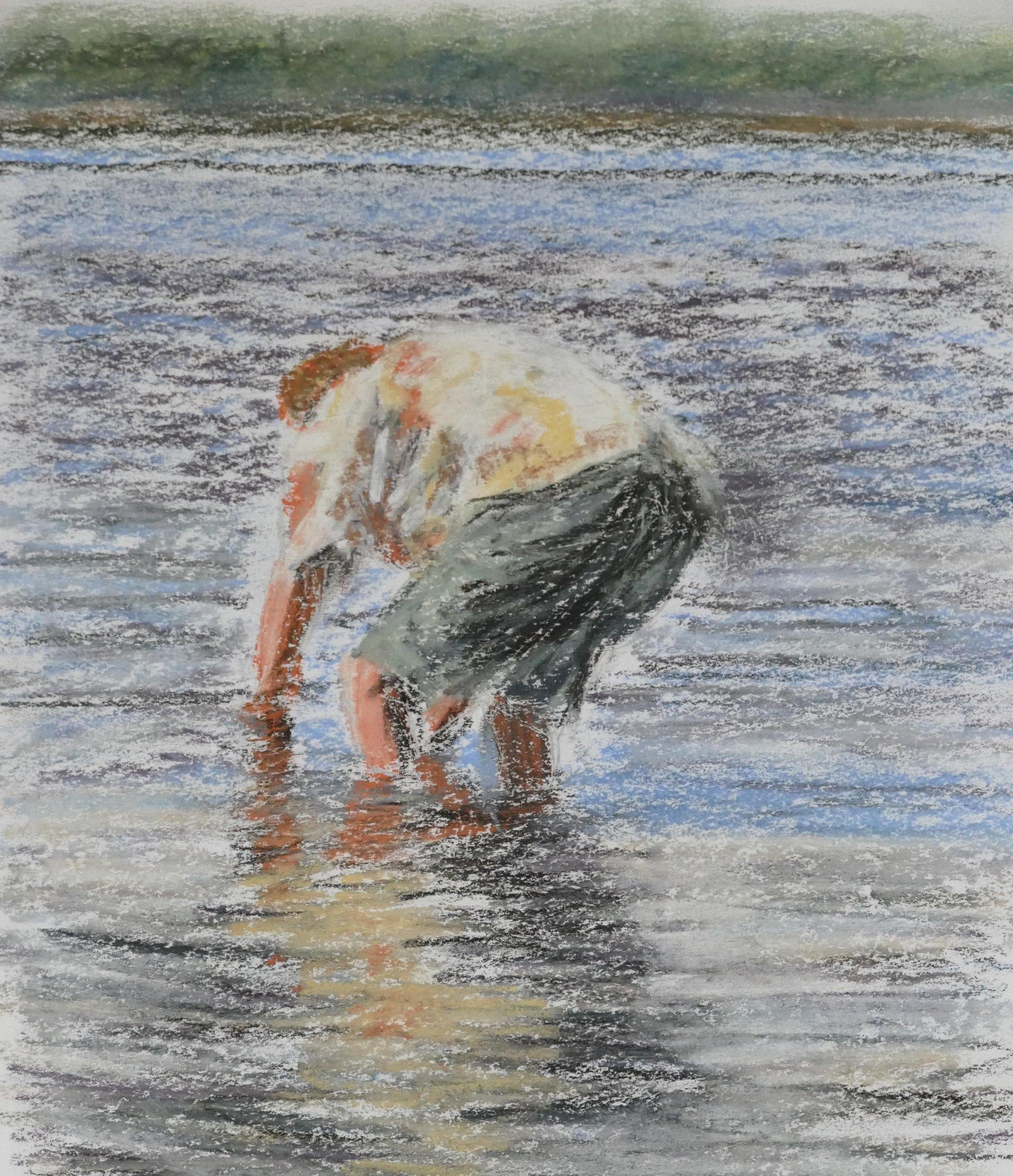 Print 5 - Keaton in Water - Size: 298 x 358