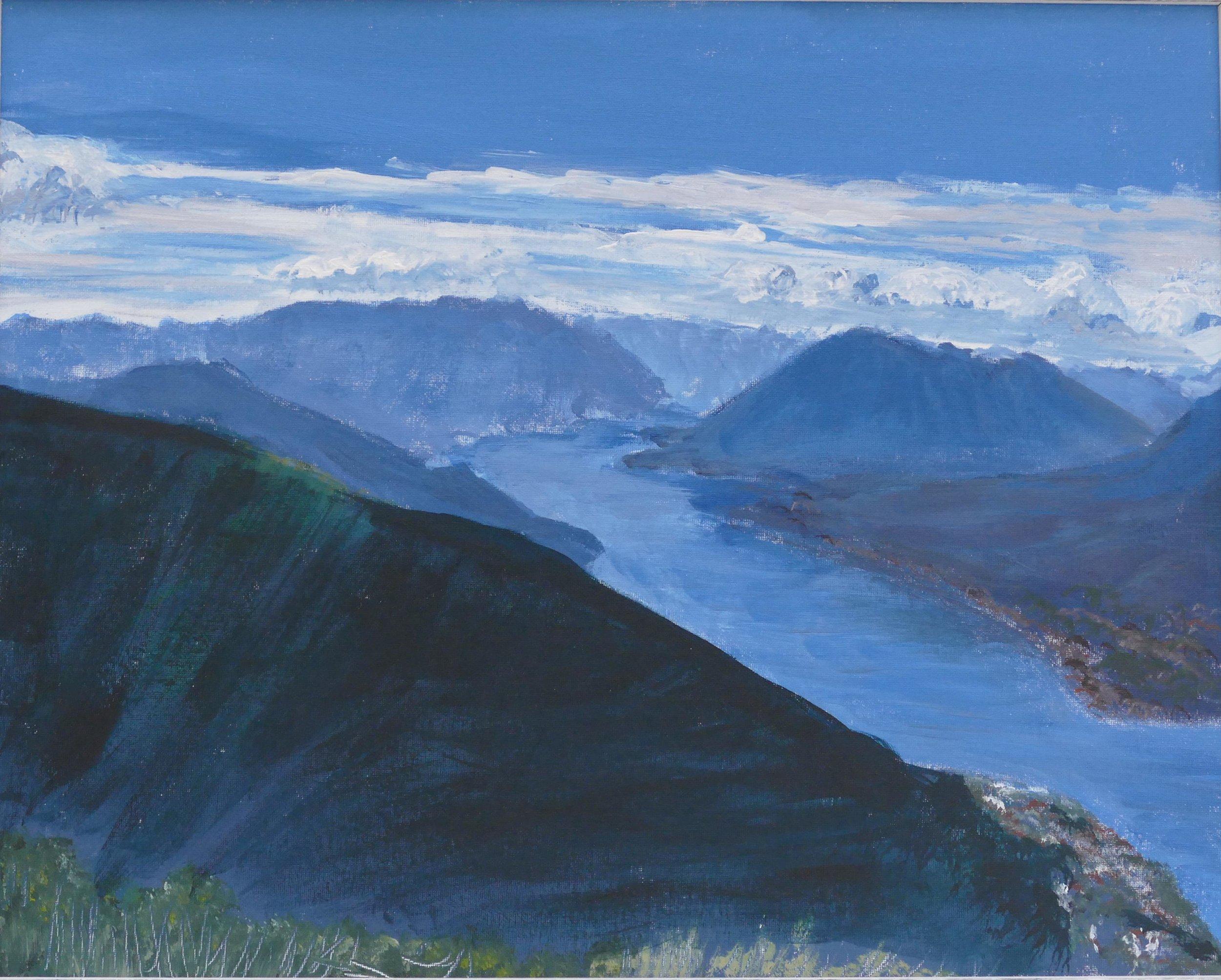 Print 7 - Lake Como - Size: 377 x 307