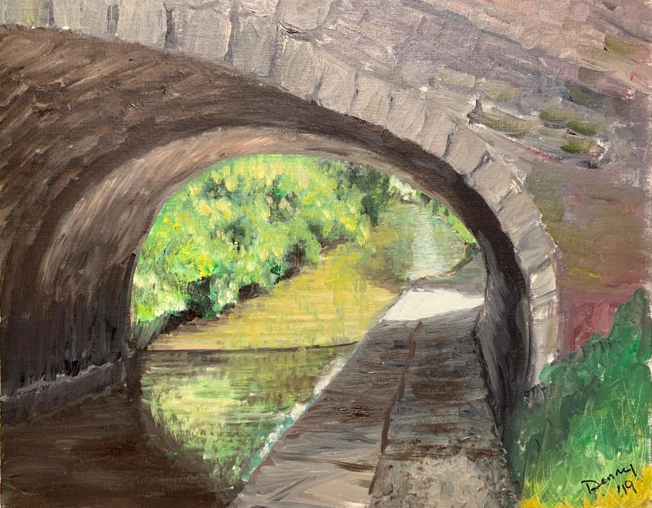 Print 8 - Bridge No. 26 - Size: 281 x 219