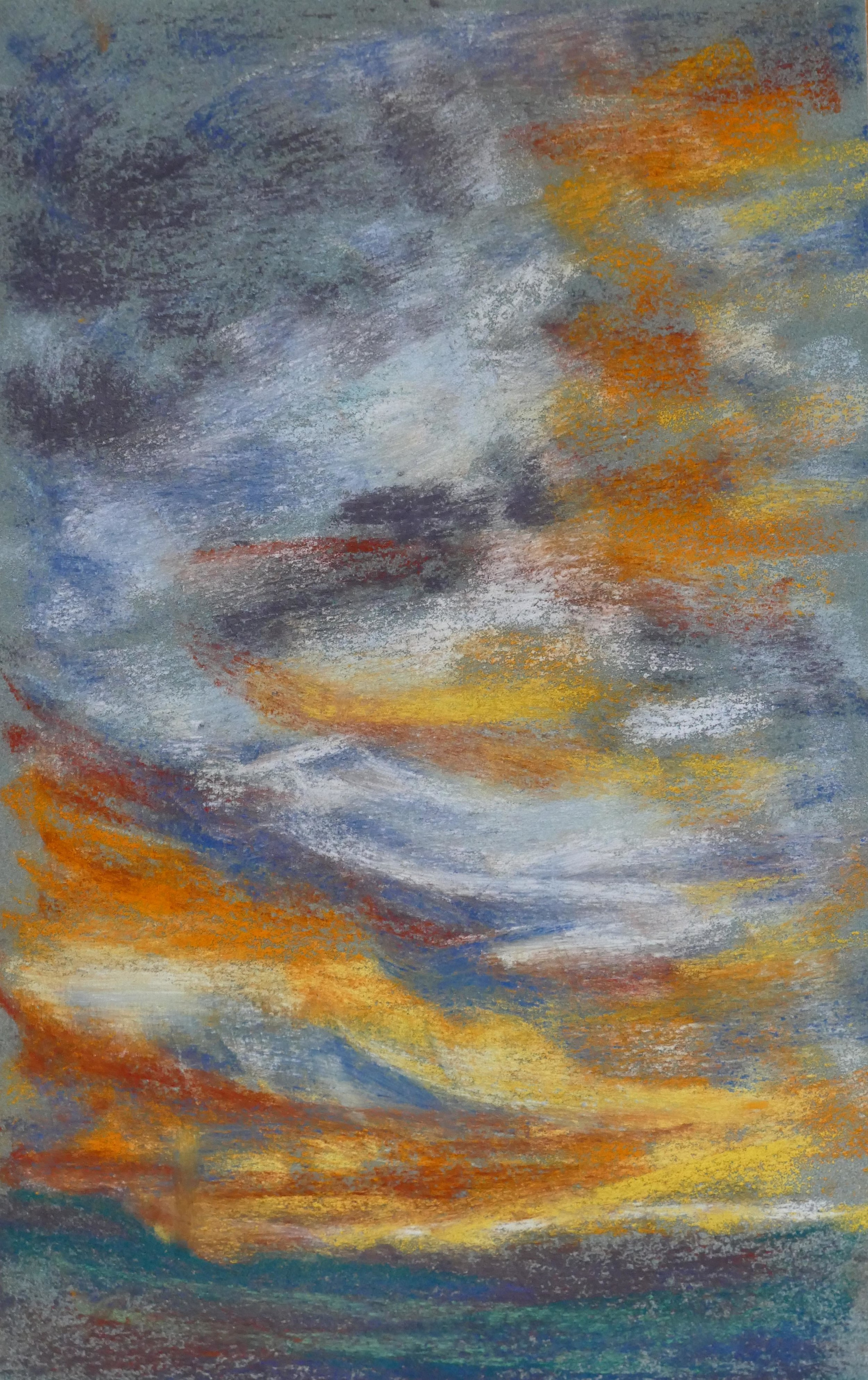Print 11 - Sky in Pastels - Size: 180 x 286