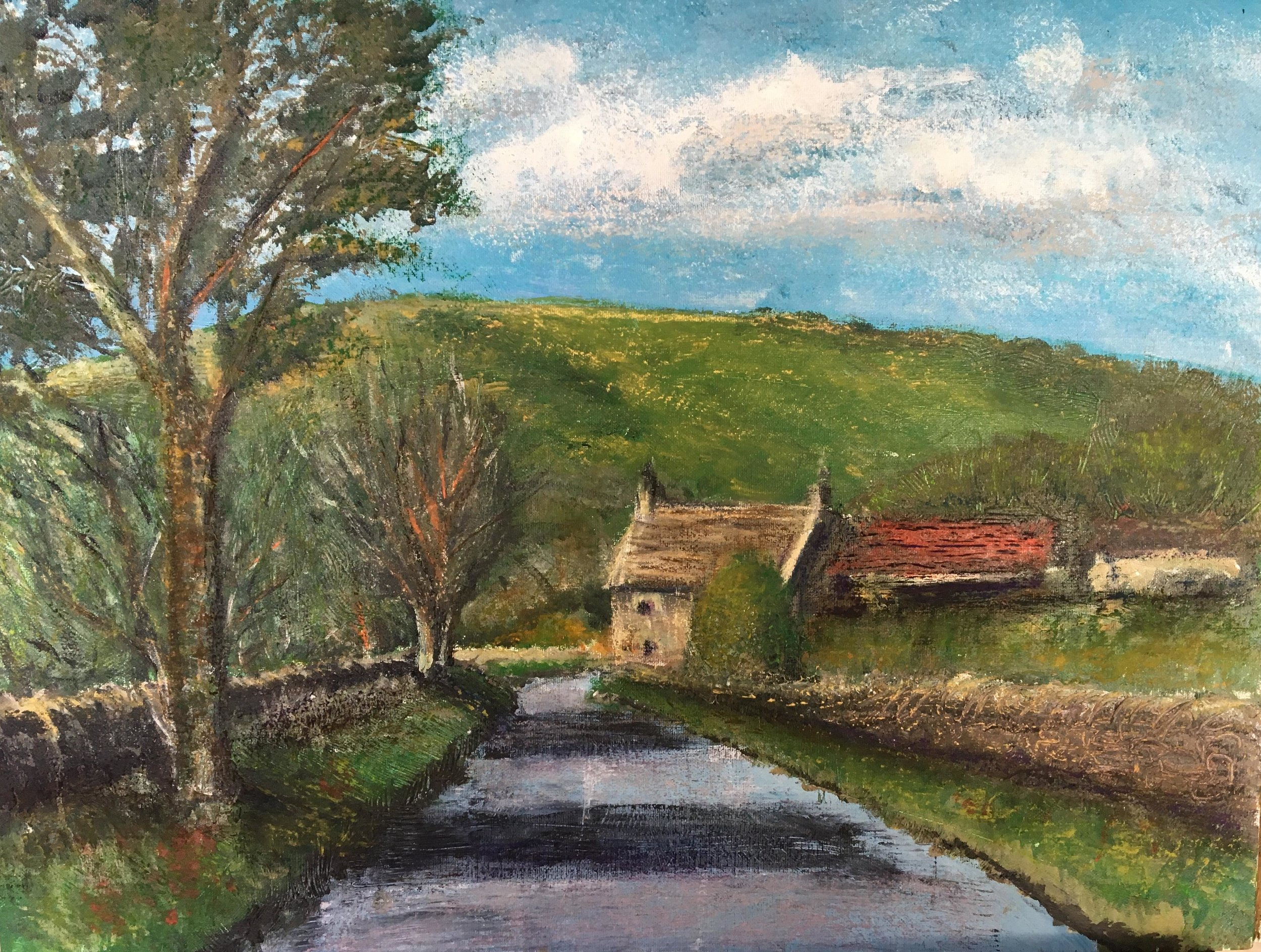 Print 13 - Spring in the Peak District - Size: 313 x 236