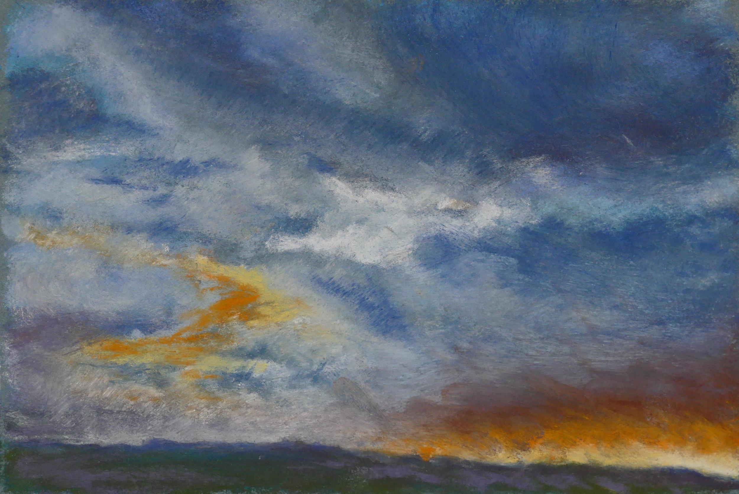 Print 15 - Stormy Sunset - Size: 359 x 234