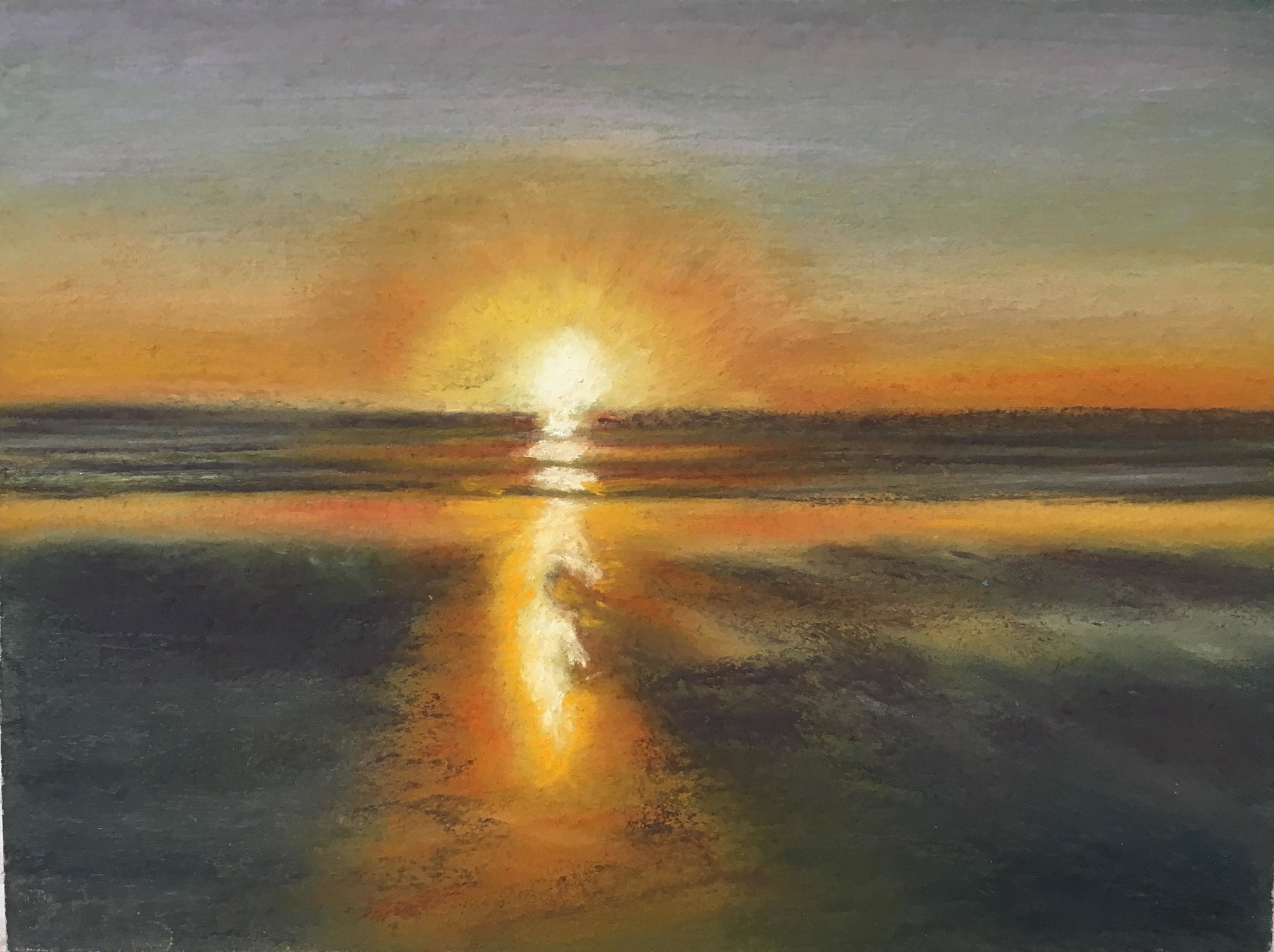 Print 16 - Sunset - Size: 265 x 198