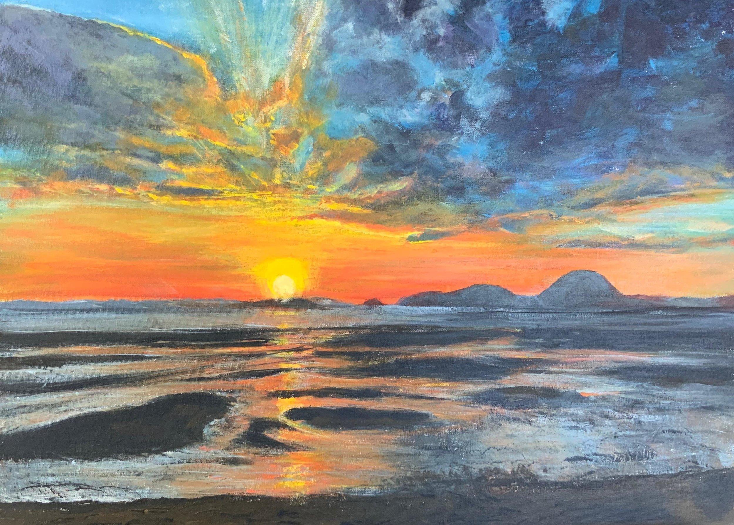 Print 18 - Thai Sunset - Size: 275 x 197