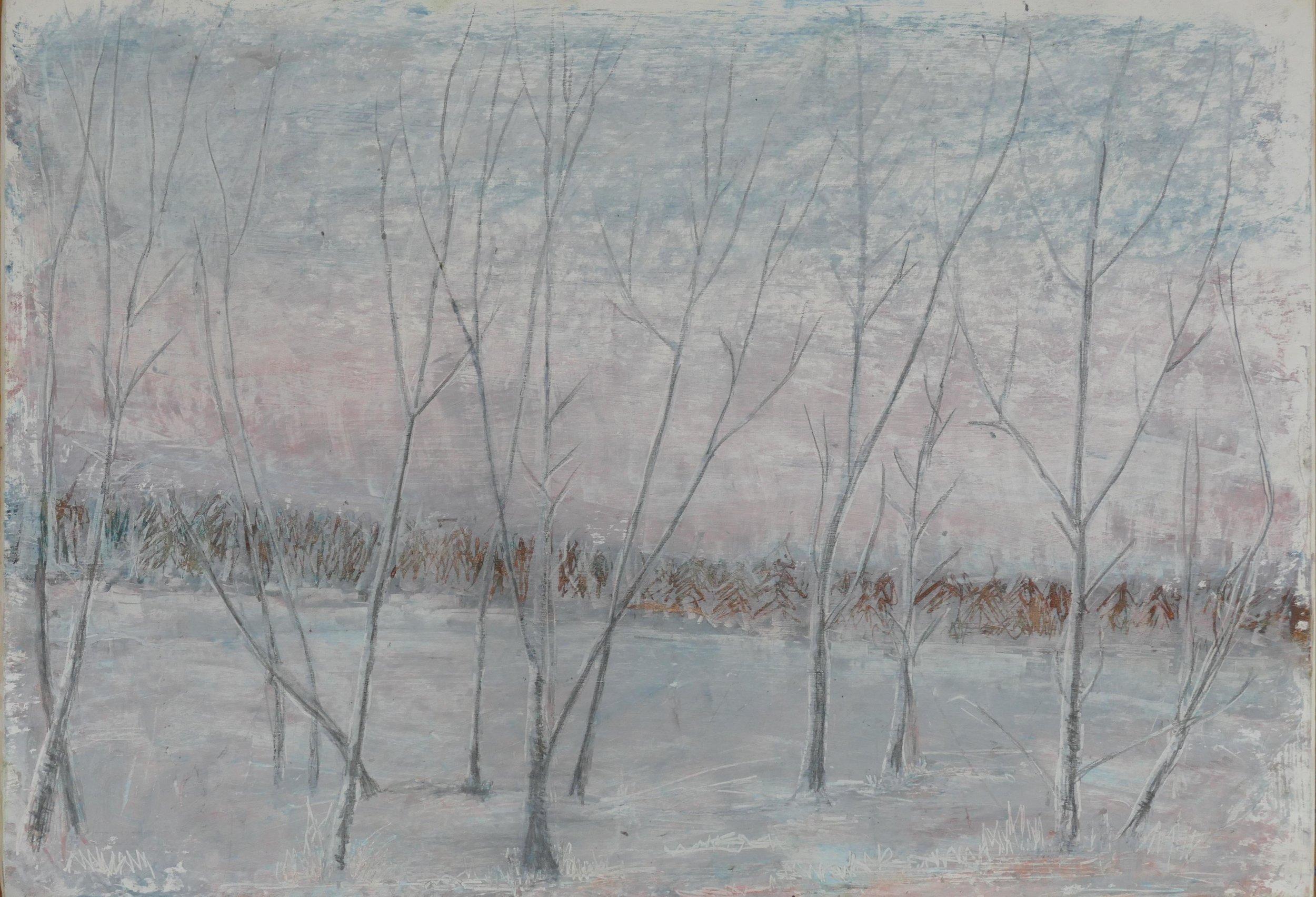 Print 24 - Winter - Size: 140 x 475