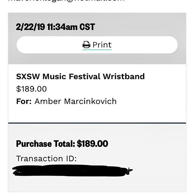 When you can't afford the badge but need to go see and hear as much music as you can during @sxsw. I hope my husband will be cool with me going down there a lot when I'm not working. 😬#musicismylife #sxsw2019 #livemusiccapital