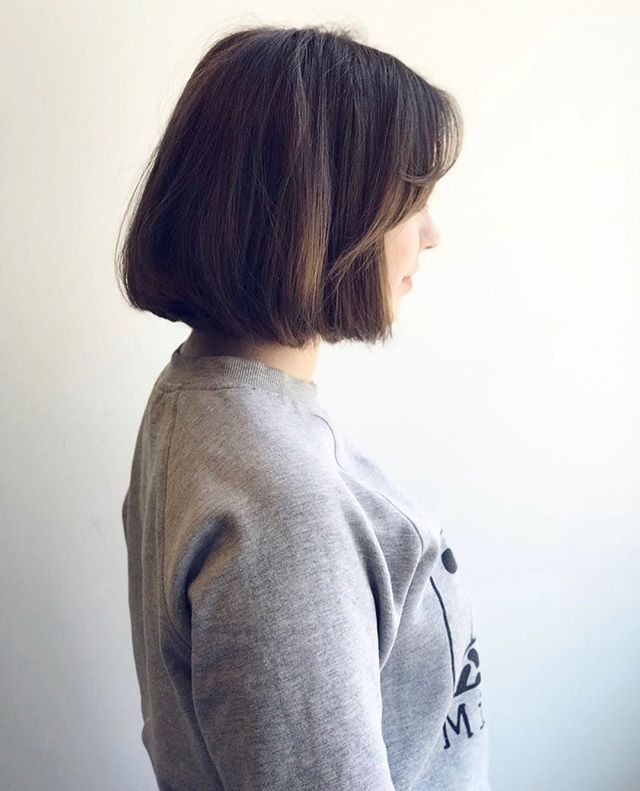 Casual styling and a perfect cut are all you need for some fabulous looking hair •