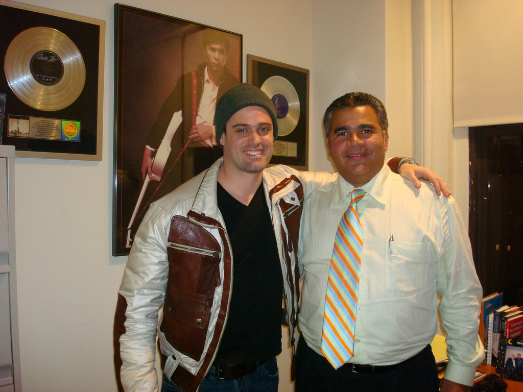 Left to right: Roman Rojas and Juan Carlos Barguil of Sunflower Entertainment.