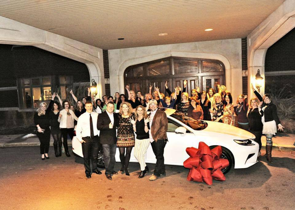 Deb Johns Lexus celebration.jpg