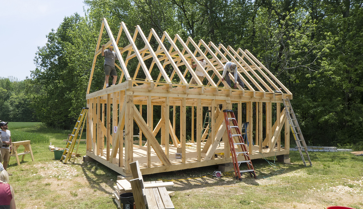 TIMBER FRAME WORKSHOP—DAY 4