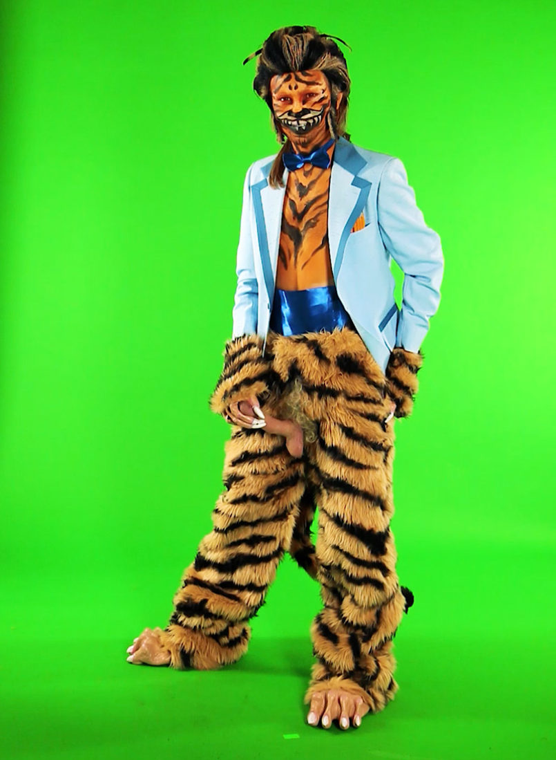 Carly Mark, Screen Tests Tiger I, 2018