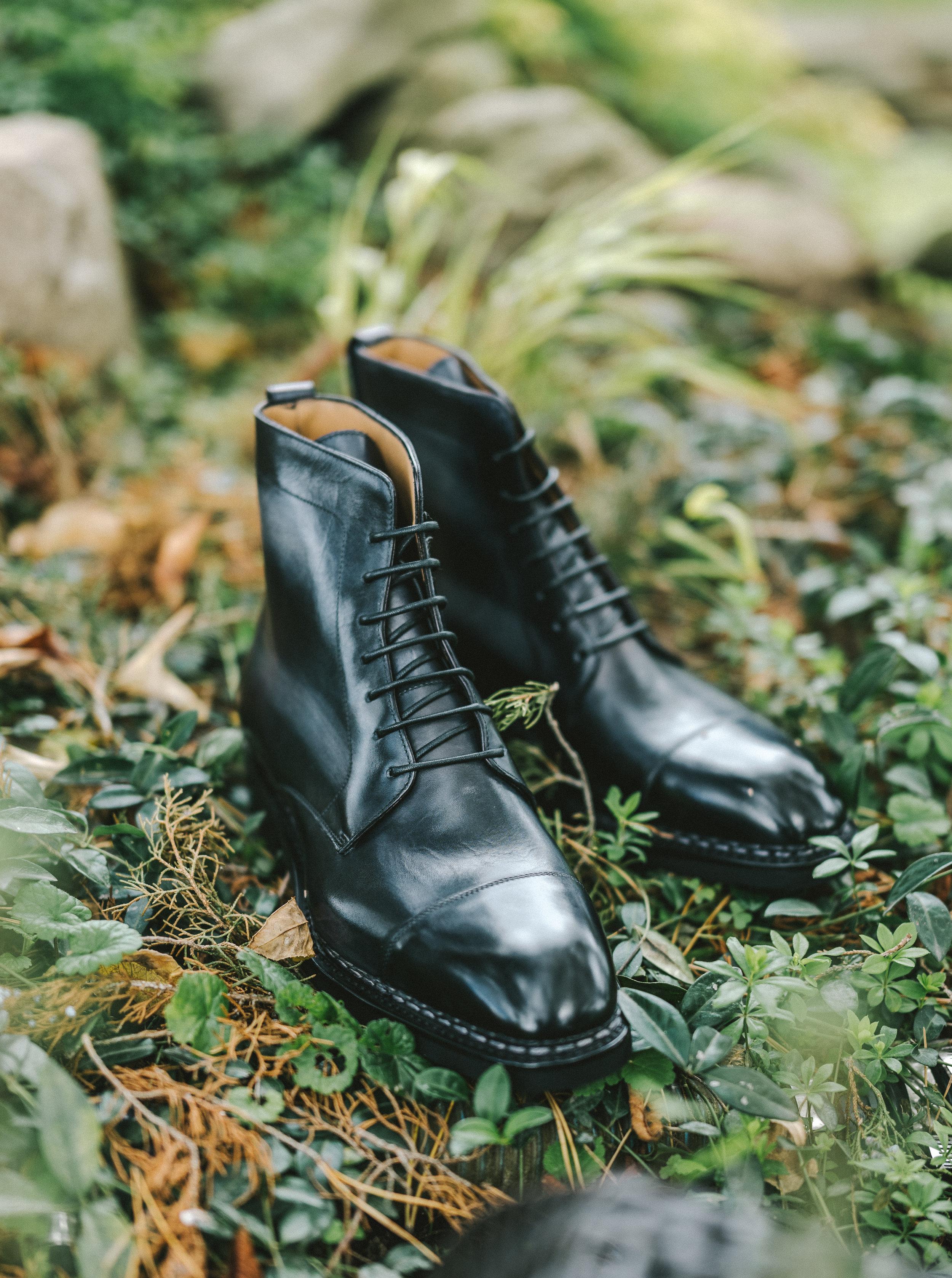 Paolo Scafora - Cap-Toe Boot in Norwegian Welt