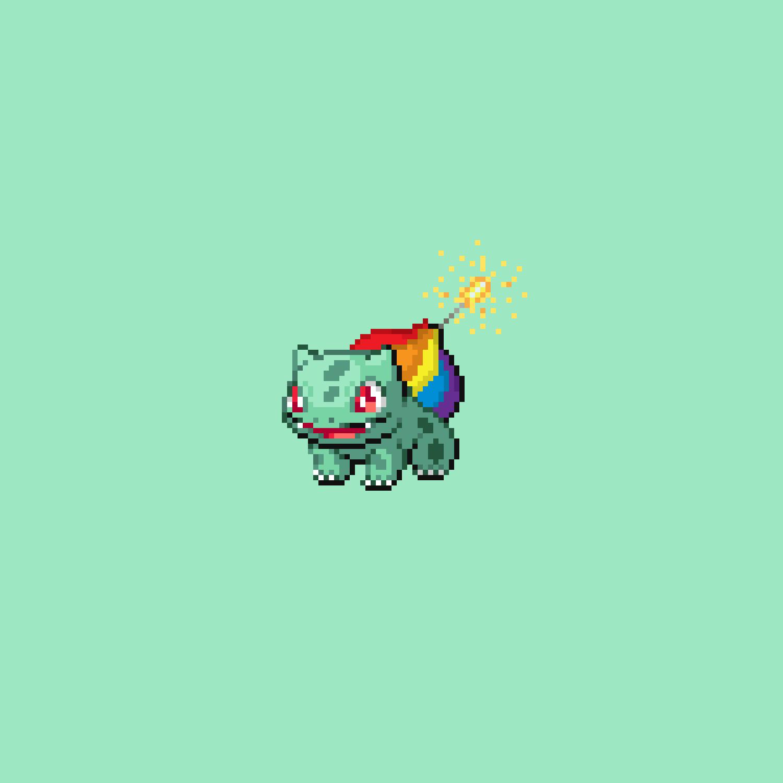 Lgbt Pride Pokémon Original Pixel Art Pixelpunkz