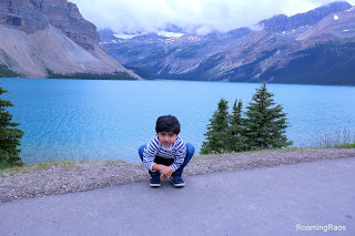 Bowing down to the beauty of Bow Lake