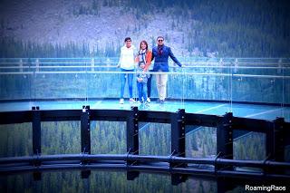 Glacier Skywalk - Don't look down, but do