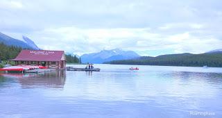Maligne Lake - When this pretty is not pretty enough