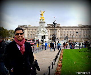 His highness at Buckingham Palace :P