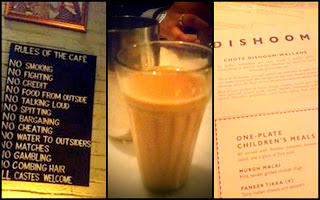 Dishoom, London - Little touches go a long way