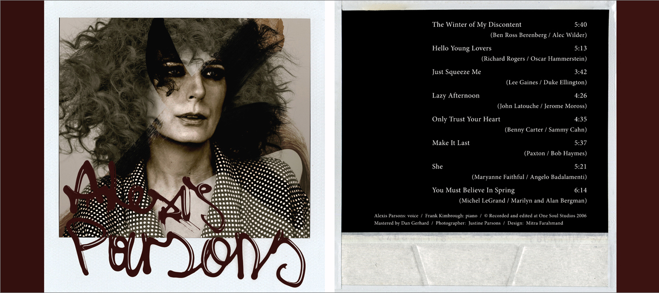available on   CDbaby  |  amazon  | iTunes   Alexis Parsons  was named as one of Downbeat Magazine's Best CDs in 2012 ★★★★