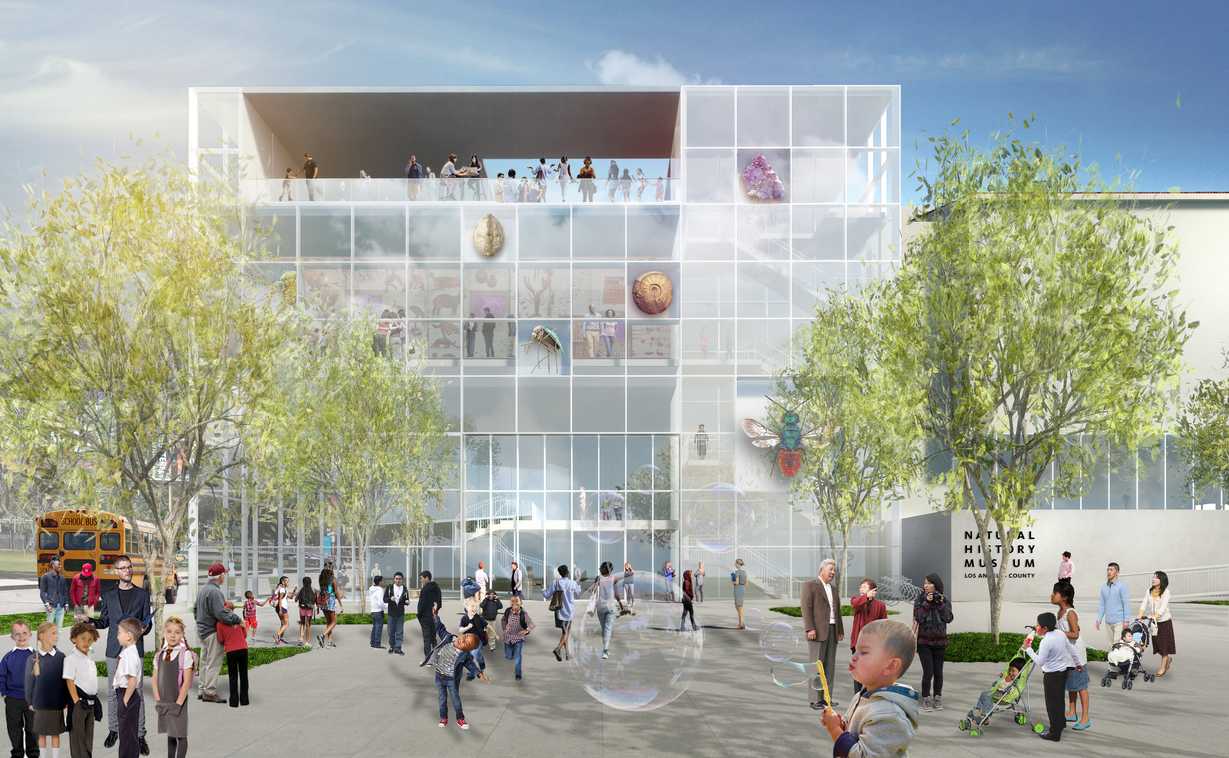 Natural History Museum West-South Project / FF&P
