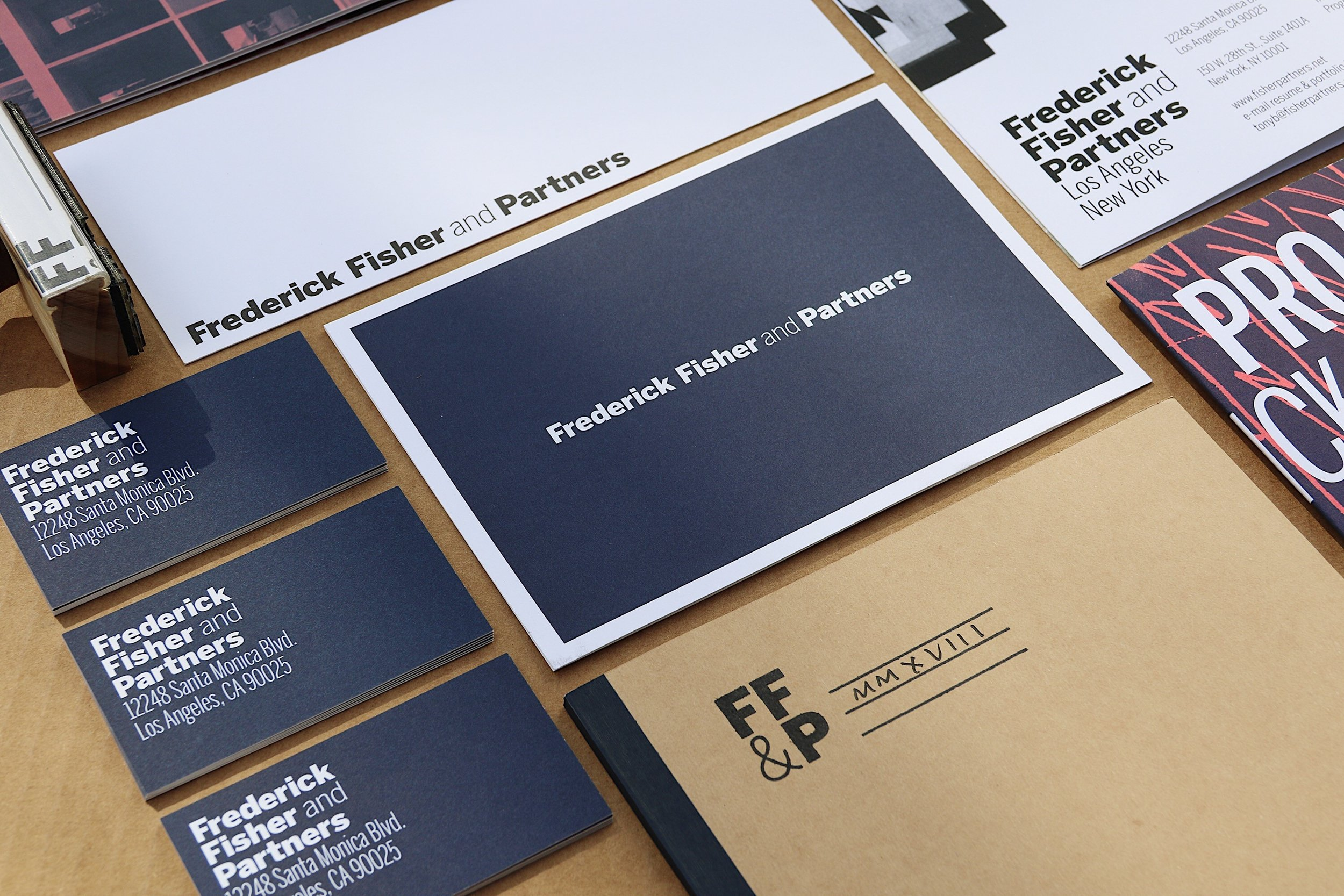 Rebranded marketing collateral.