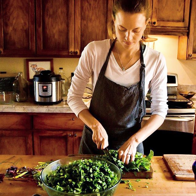 "Today I'm throwing back to the Hawaii Hale Pule kitchen, cherishing the moments spent there...⁣⁣ ⁣⁣ I've grown, learn, cried, laughed and shed so many layers in this house. Mostly right outside of the kitchen borders to keep the energy pure and sattvic while cooking. ⁣⁣ ⁣⁣ Ayurveda is not a quick fix. It's deep, long, consistent, persistent and sometimes painfully slow work. ⁣⁣ ⁣⁣ Something I often share with clients is this:⁣⁣ Look at how long you've been doing what have caused the current condition. Not with blame, but with honesty.⁣⁣ Then look at for how long you're doing things in a new way. Mostly it's a proportionally shorter time! Patience and kindness toward oneself is our best buddies on the Ayurveda path.⁣⁣ ⁣⁣ I'm still learning about and how I can apply Ayurveda in my clients and my own life, every day! Currently I'm taking Hale Pule's 600 hour Ayurvedic Health Consultant program, mostly to learn more from Myra, but also to hear things in a new way and deepen my knowledge. So far I really love the program and the way it's set up online.⁣⁣ If you want to study at home too, send me a message or email and I'll share more about my experience with you.⁣⁣ If you're ready to take the next step, use my code ""Areyouvedic"" to get $50 off the application fee. It's a beginning! ⁣⁣ ⁣⁣ Read more about the program and follow their adventure along as they settle in on the other side of the world in New Zealand.⁣ I can't wait to visit! ⁣⁣ ⁣⁣ ⁣⁣ ⁣⁣ ⁣⁣ Photo: @hale_pule⁣⁣ ⁣⁣ #ayurveda #concious #prana #yoga #ayurveda #yogini #ayurvedic #ayurvedicchef #candida #balance #sweettooth #alternativemedicine #cleaneating #ayurvedachef #naturalmedicine #herbalmedicine #letfoodbethymedicine #healthyfood #healthychoices #nutrition #mindbodysoul #healthyliving #foodismedicine #wellness #natureheals #halepule #areyouvedic #studyayurveda #onlineayurveda #onlinestudies"