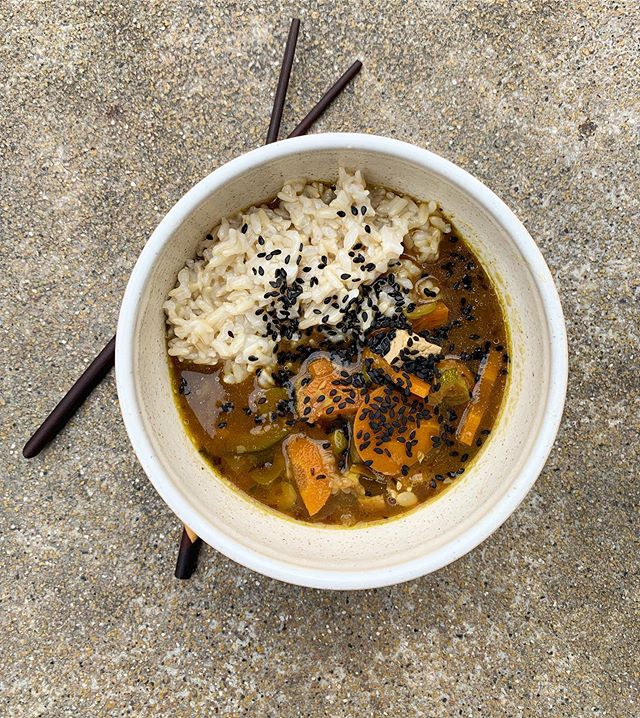 Inspired by all the glorious food I got to indulge in on this weekends London visit, I made a veggie miso soup with tofu last night.⁣ ⁣ Miso and seaweed naturally have the salty taste which is grounding and building. Combined with a hardy broth and lightly cooked vegetables it does wonders for me when I've been traveling. It's easy to digest and leaves me feeling nourished and satisfied.⁣ ⁣ Do you have a go-to food when you need a reset? ⁣ ⁣ ⁣ ⁣ #concious #Prana #warmfood #yoga #ayurveda #ayurvedicpractices #abhyanga #grounding #areyouvedic #balance #magic #cleaneating #natural #organicliving #herbalmedicine #alternativemedicine #naturalmedicine #letfoodbethymedicine #healthyfood #healthychoices #nutrition #mindbodysoul #healthyliving #foodismedicine #wellness #yogini #natureheals⁣