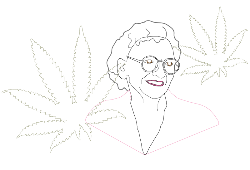 Mary Jane Rathbun Illustration by @ dmblunted