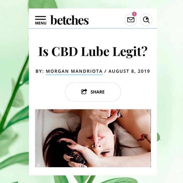@morganmandriota for @betches #kushqueen #cbdlube