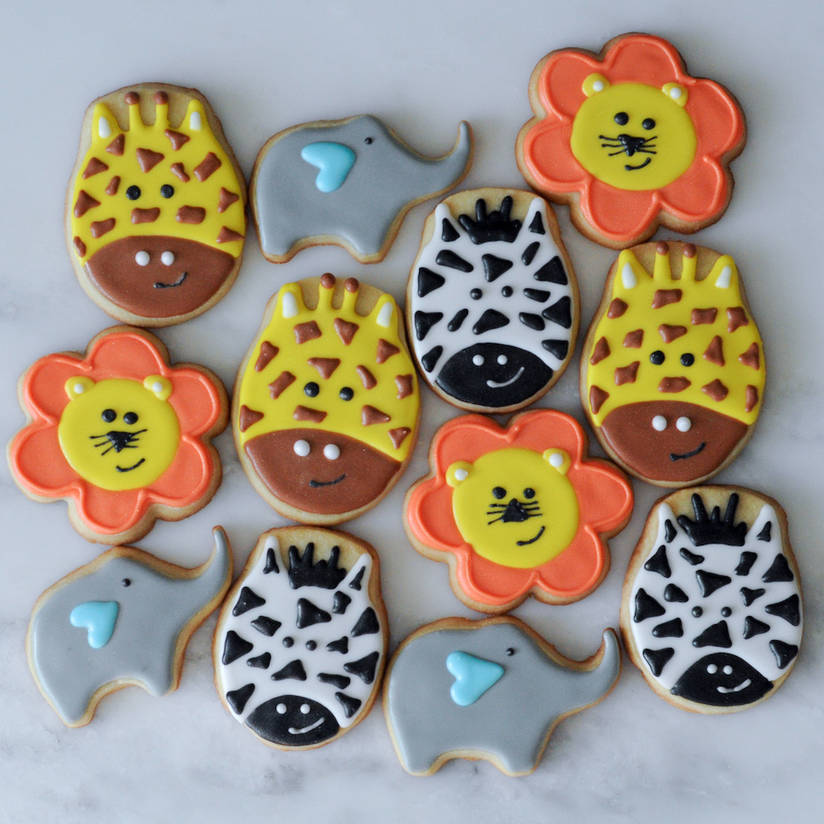 Halloween Themed Baby Shower Cookies.Custom Cookies Southern Peach Pastries