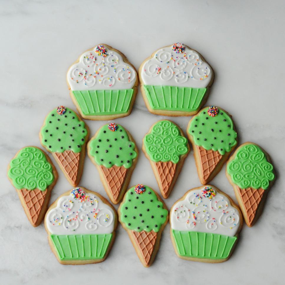 Cupcake and Ice Cream Cone Sugar Cookies.jpg