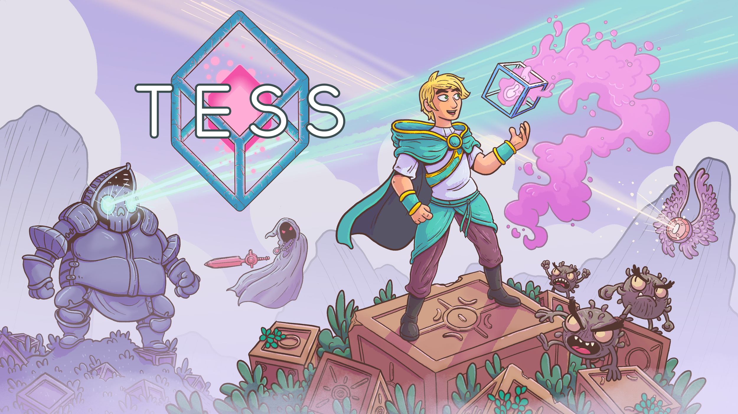 TESS video game promotional artwork