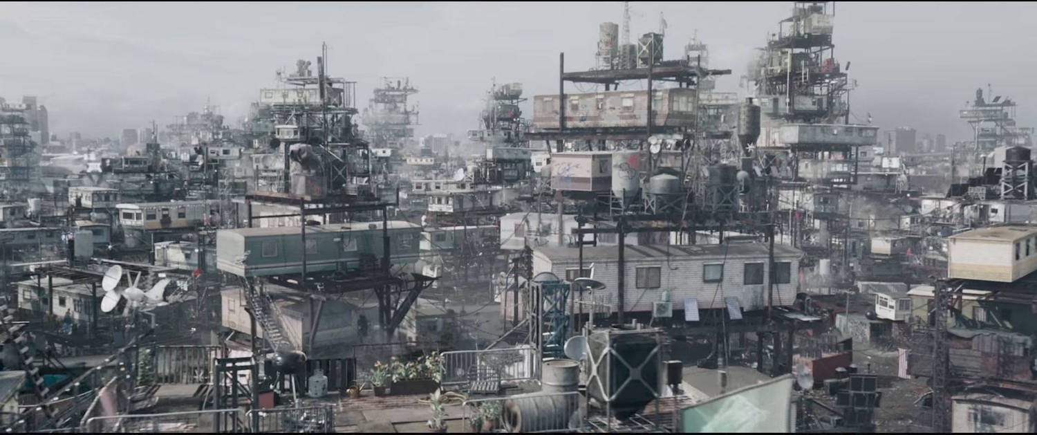 The Stacks in  Ready Player One