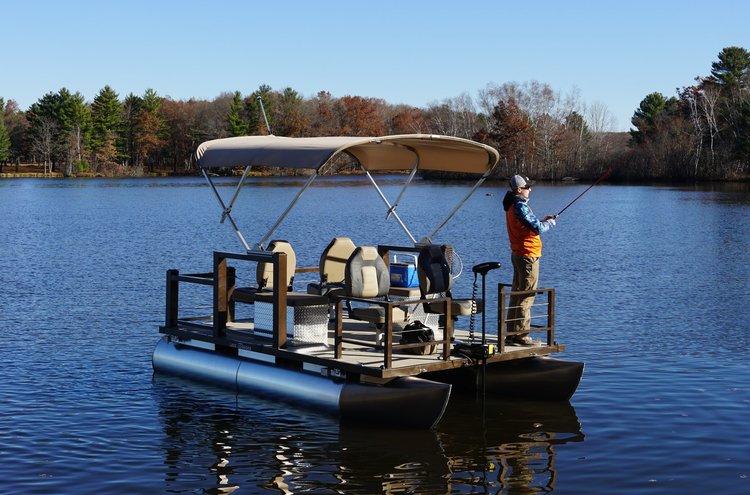 Lake Lounger 13 ft Fishing Pontoon Four Seats.jpg