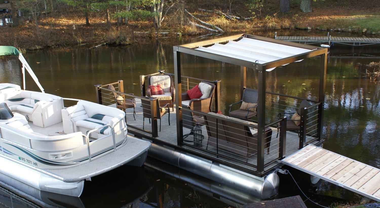 Lake Lounger 18 ft Pontoon Boat Dock.jpg