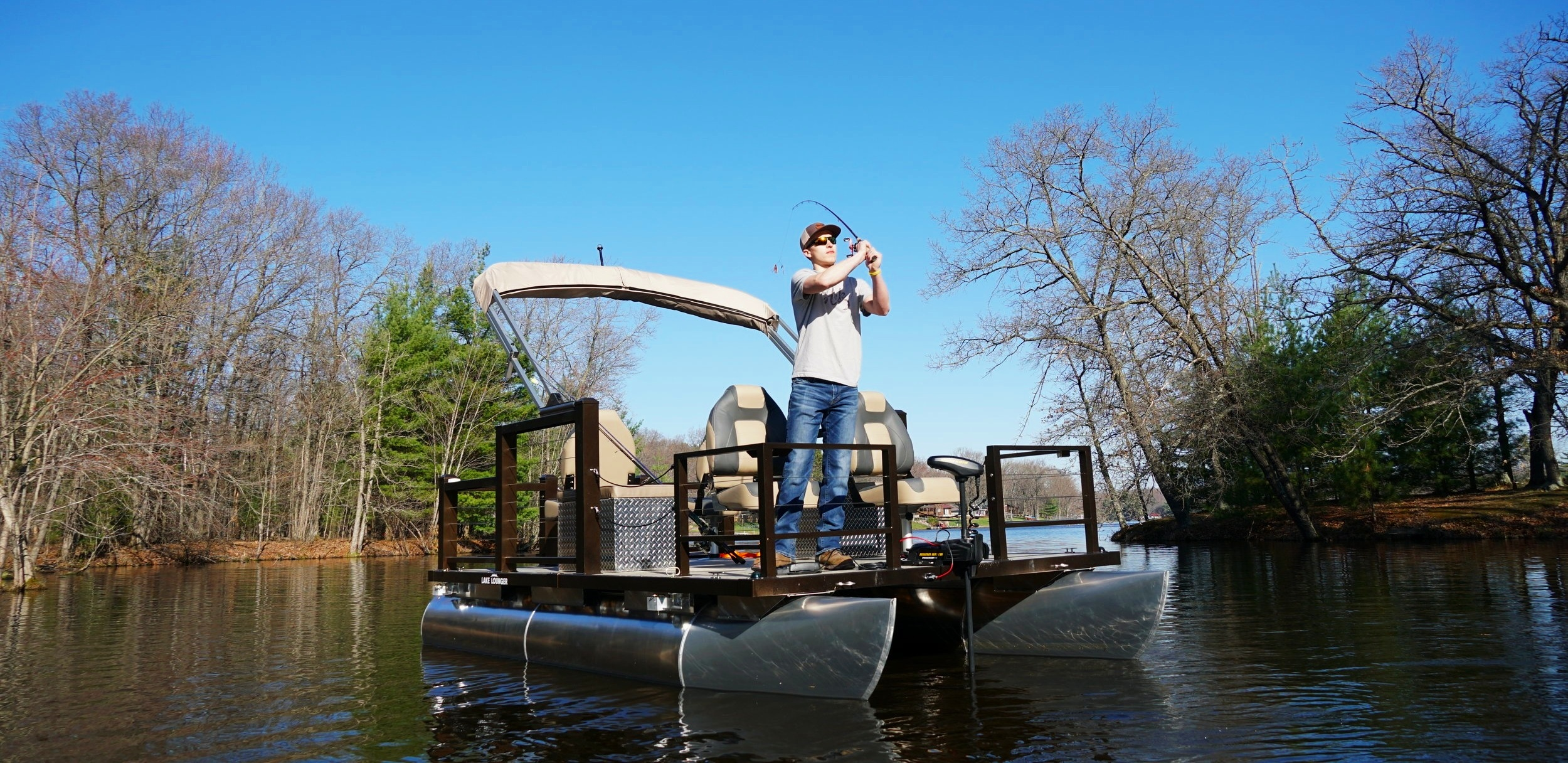 13 ft Fishing Pontoon Four Seats 2.JPG