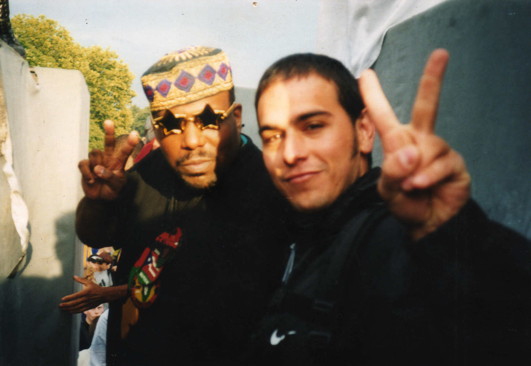 Love Parade - Berlin, 1998 with Afrika Bambaataa