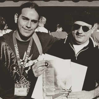 "For tonight's #tbt we've got this neat photo with Danny Tenaglia holding a copy of our very own ""Aguja & Vinilo"" Magazine back in 1997! ✨🙌✨ #miami #wintermusicconference #wmc #dannytenaglia #musicistheanswer #musicistheanswertoyourproblems #agujayvinilo #deejayculture #dj #keepondancing #keepongrooving"