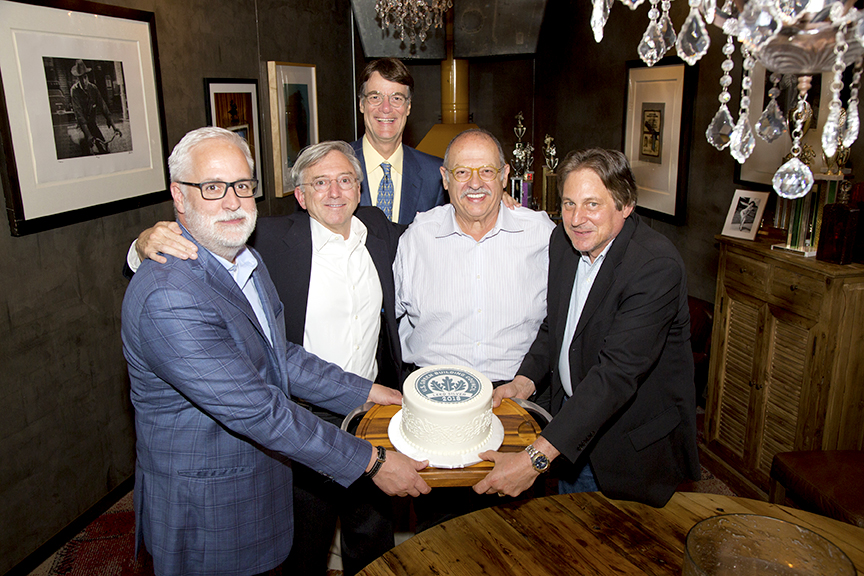 Left to right: Bob Borson, Barry Buford, Michael Malone, George Kartsotis and Paul Pascarelli